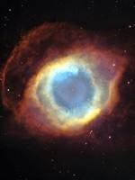 Туманность Helix. Хотя это больше похоже на большой «проезд» в соседнюю Вселенную с другими качественными параметрами