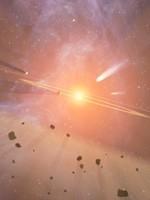 Пояс астероидов между орбитами Марса и Юпитера, на орбите уничтоженной Тёмными планеты Деи, которую ещё называют Фаэтоном. Подробнее см. сайт «Пища Ра»