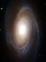 Спиральная Галактика M81 (фото Хаббла)