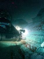 Следы цивилизации под водой. Иллюстрация с сайта «Заговор Ориона» - 1