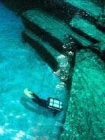 Следы цивилизации под водой. Иллюстрация с сайта «Заговор Ориона» - 5