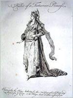Тартарская принцесса (гравюра 1700 года)