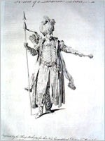 Тартарский принц(гравюра 1700 года)