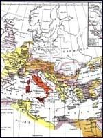 Выдуманная карта «Римской империи»