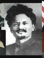 А это – продолжатели святого дела Лёвы Троцкого (Бронштейна), неутомимые борцы со славянами и с русами в первую очередь – иудодемократы…