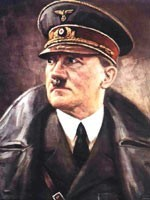 Бесноватый фюрер – Адольф Шикльгрубер (Гитлер), натравленный сионистами на Советский Союз и другие страны Европы…