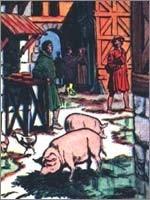 В конце средних веков в европейских городах отбросы и нечистоты выбрасывались прямо на улицы, где их поедали свиньи (см. статью «Средневековая Европа. Штрихи к портрету» на Советнике)…