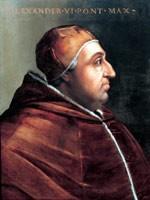 Это Папа Римский Александр VI. Очень характерный профиль! Настоящий христианин…