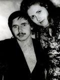 Николай Левашова с сестрой Мариной, 1984 год