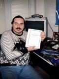 Первая книга, написанная Н.В. Левашовым собственными руками, 1993 год