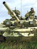 Русский танк Т-90 во всей своей грозной красе...