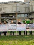 Пикет против уничтожения народного образования