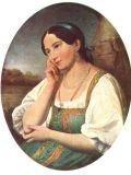 Иван Аргунов (1727-1802) Портрет неизвестной крестьянки
