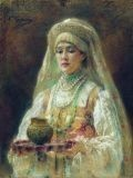Константин Маковский (1839-1915) Чарка мёду