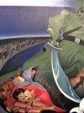 Фреска «Геноцид» в аэропорту Денвера