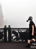 Москва в смоге летом 2010 года