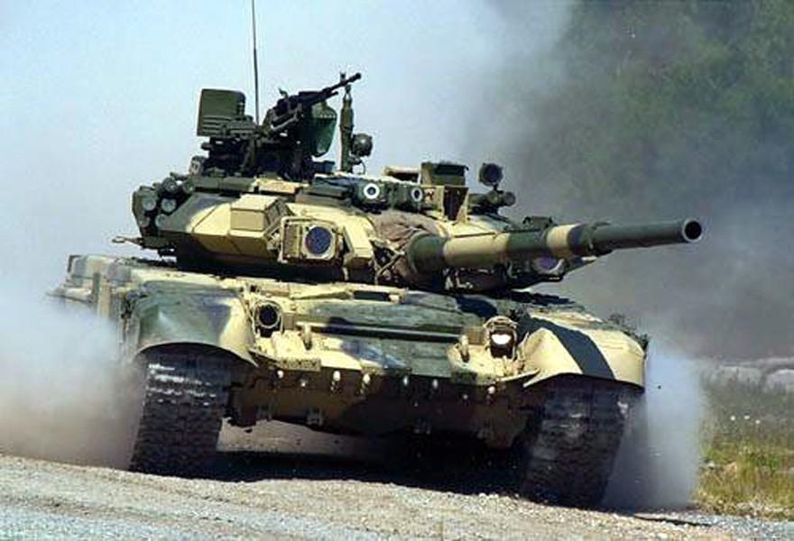 Русский танк т 90 во всей своей грозной