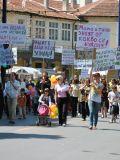 Протест против Ювенальной Юстиции в Болгарии