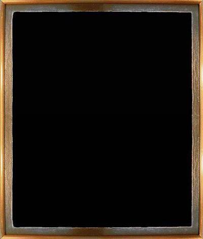 Альфонс Алле, «Битва негров в глубокой, тёмной пещере ночью», 1893