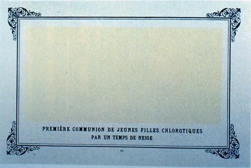 Альфонс Алле, «Первое причастие страдающих анемией девушек в снежную пору», 1893