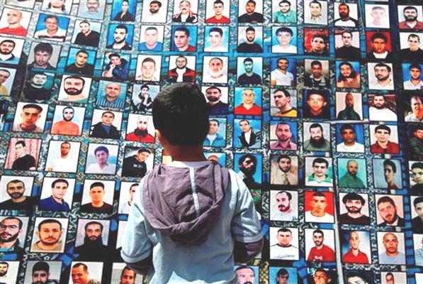 Со времени начала израильской оккупации в тюрьмы было брошено 750 000 палестинцев