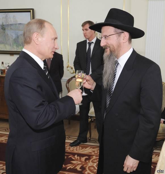 Добрые приятели – В. Путин и Б. Лазар