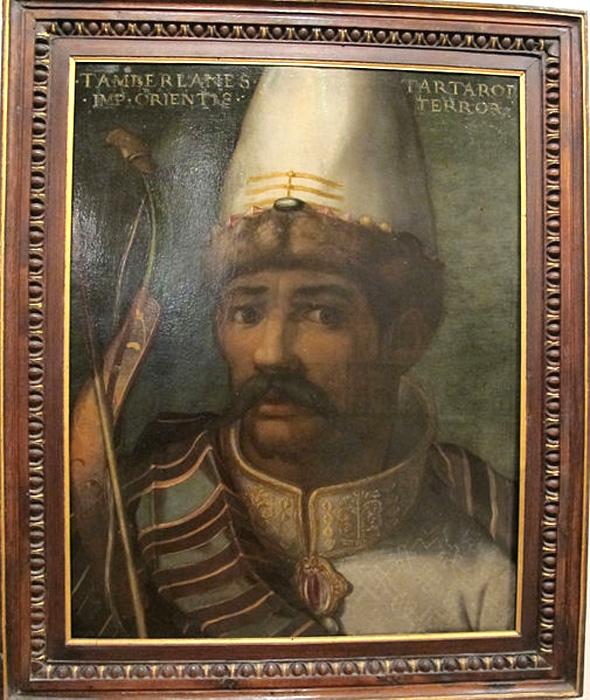 Потомок Чингиз Хана – «монгол» Тамерлан (Тимур)