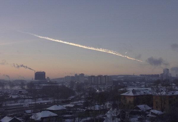 Челябинск, взрыв в атмосфере 15 февраля 2013 года