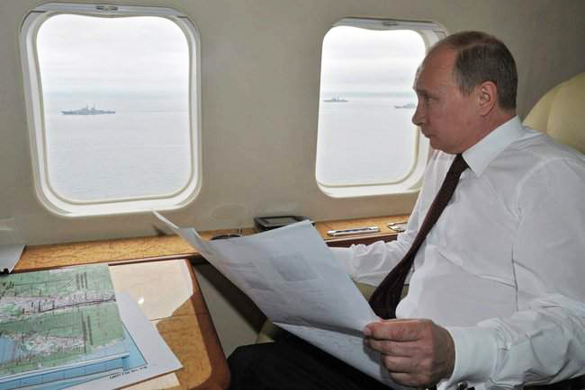 Путин обратился к американцам...