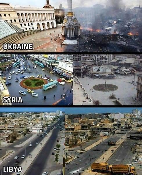 Вот так демократия меняет страны и народы