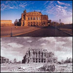 Воздушный террор в Дрездене