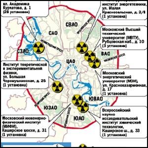Радиоактивная Москва