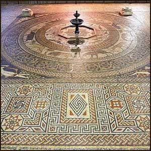Древняя русская мозаика в Англии