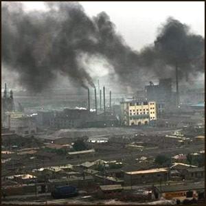 Экология Китая угрожает всем