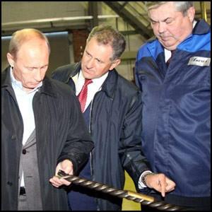 Визит В. Путина в Ижевск