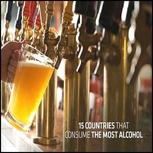 15 самых «пьющих» стран
