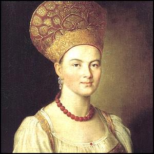 Иван Аргунов (1727-1802). Портрет крестьянки.