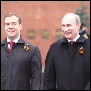 Двойники, тандем и выборы 2012