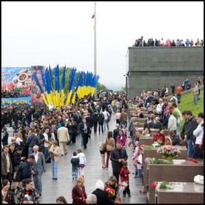 Киев помнит славные Победы