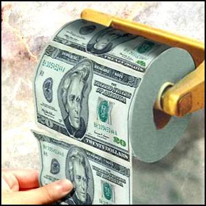 Как уничтожить деньги