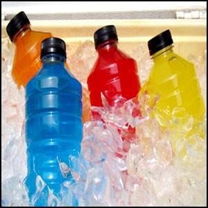 Странные «спортивные напитки»