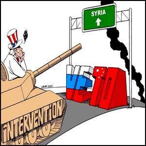 Война в Сирии – подготовка Запада и США к нападению на Россию