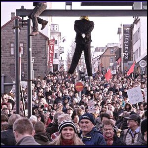 Удивительная революция в Исландии