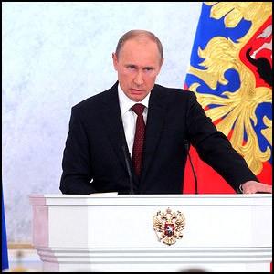 Президент России Владимир Путин сделал послание Федеральному собранию
