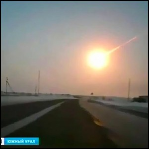 Взрыв «метеорита» в Челябинске: видео, версии, свидетельства очевидцев