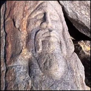 Камни древние в центре Нью-Йорка