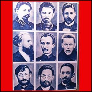 РСДРП (будущую КПСС) когда-то учредили в Минске несколько евреев