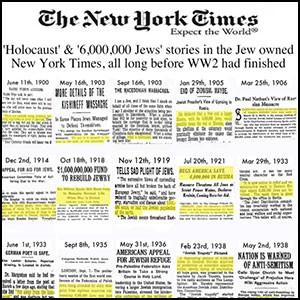Холокостная афёра была задумана давно, но её не смогли сразу реализовать