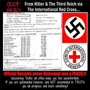 Отчёт Красного Креста свидетельствует – никакого холокоста не было!