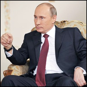 Президент Владимир Путин дал интервью агентству «РИА Новости»